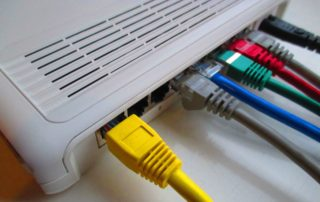 nastavení routeru
